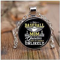 colostoreのみ野球のMomネックレス、私は野球A Momネックレス