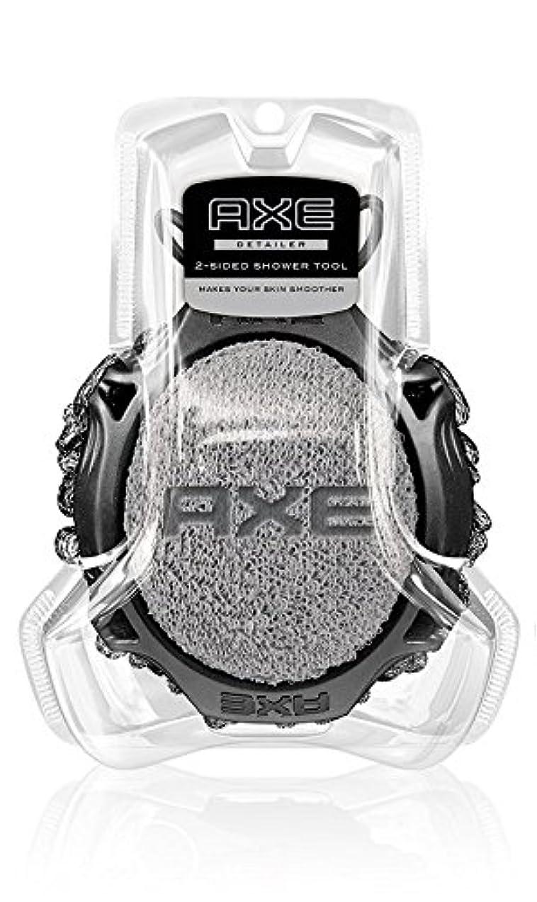 ショッキング意気揚々炭素AXE (アックス) シャワー ツール ディテイラー(バス スポンジ) [並行輸入品]