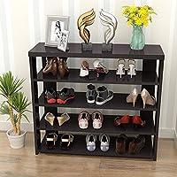 TLMY 防塵木製の靴のラックモダンなシンプルなラック寮の靴 靴箱 (色 : D, サイズ さいず : 90cm)