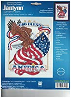 God Bless America Counted Cross Stitch Kit by God Bless America