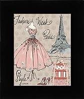 ファッションWeek III–ファッションContemporary Fineアートプリントby Tavoletti、Anne–Choose yourサイズとフレームオプション 8x10 pef-38_15149-8x10-studio