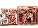 式部浪漫 七五三 七歳用 結び帯 大寸 箱せこセット ペアセット sk-2 ピンク地梅柄