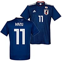 adidas サッカー日本代表 2018 ホーム レプリカ ユニフォーム 半袖 No.11 KAZU CV5638/11KZ