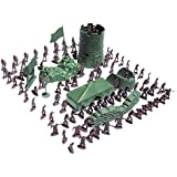 【ノーブランド 品】おもちゃ 兵士モデル セット 3cm 約100pcs ミリタリーモデル 軍戦闘ゲーム ギフト フィギュア