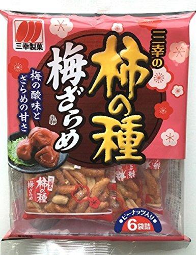 三幸製菓 三幸の柿の種 梅ざらめ 131g