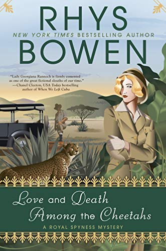 Love and Death Among the Cheetahs (Thorndike Press Large Print Core Series)