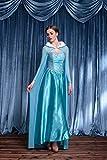 MAKE CHEERFUL アナと雪の女王 エルサ ドレス コスプレ 衣装 大人 用