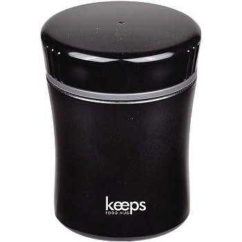 パール金属 スープ ジャー 270ml ブラック 保温 保冷 フード マグ キープス HB-266