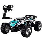 ラジコンカー 2wd 2.4G 1/24スケール 電動 RC高速 サスベンション搭載 操作簡単 子供おもちゃ プレゼントBlu7ive (青)