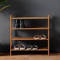 Hyun times 靴ラックソリッドウッドマルチレイヤーシューズクリエイティブシンプルな防塵寮シンプルなストレージの家 ( サイズ さいず : 50*26*68cm )