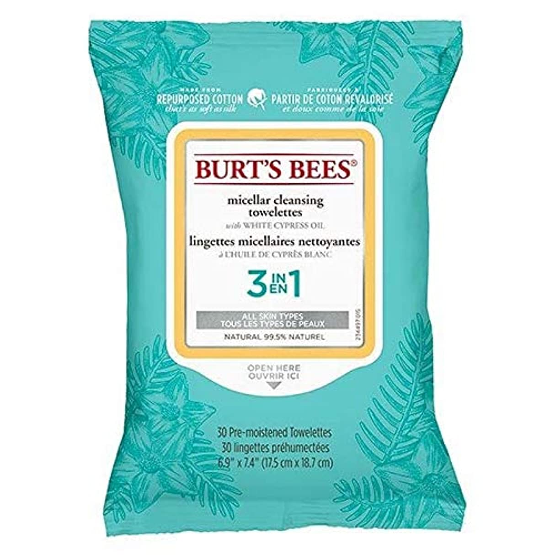 [Burt's Bees ] バーツビーミセル顔はX30をワイプ - Burt's Bees Micellar Face Wipes x30 [並行輸入品]