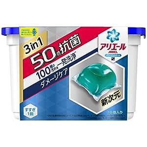 アリエール 洗濯洗剤 液体 パワージェルボールS 本体 352g (18個入)
