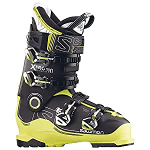 SALOMON(サロモン) スキーブーツ X PRO 110 (エックス プロ 110) 2016-17 モデル 25.5cm ブラック/アシッドグリーン/アントラシート
