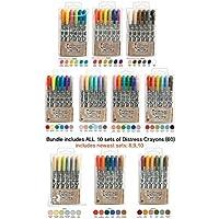 Ranger Tim Holtz 60: Distress Crayons Sets 12345678910 [並行輸入品]