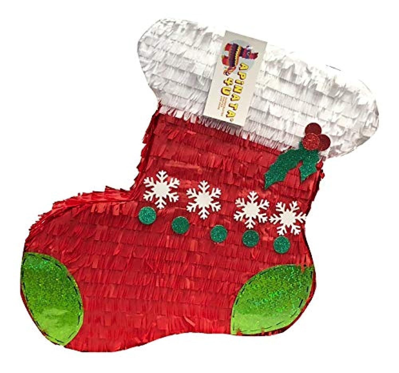 APINATA4U クリスマスストッキング ピニャータ
