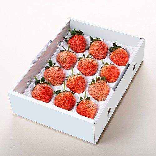 宮城県産 桃薫いちご 12~18粒入り 化粧箱入り