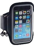 Best iPhone 4Sアームバンド - 【イヤフォンケーブルフック機能付!】 IPHONE6 (4.7インチ) /5S/5C/5/4S/4 GALAXY S5/S4/S3 対応設計 ジョギング Review