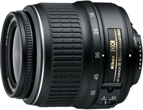 Nikon 標準ズームレンズ AF-S DX Zoom Nikkor ED 18-55mm f/3.5-5.6 G II  ブラック ニコンDXフォーマット専用