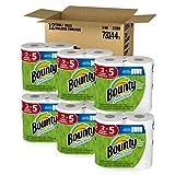 Bounty quick-size紙タオル、ロール12ファミリ、ホワイト 画像