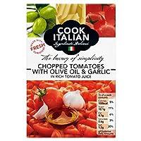 Cook Italian Chopped Tomatoes Olive Oil & Garlic (390g) イタリアのみじん切り、トマトをオリーブオイルとニンニク( 390グラム)を調理