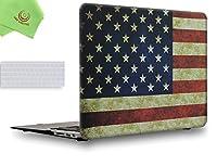 "UESWILL 2in1 スムーズソフトタッチ マットフロストハードシェルケース MacBook Air用シリコンキーボードカバー + マイクロファイバークリーニングクロスが付属 MacBook Air 11"" UES01F11A2-25"