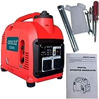 cmczz インバーター発電機 额定出力1800W過負荷保護 正弦波 一年保証 100V 50Hz/60Hz切替 最大出力2000W 地震 災害 停電 小型 家庭用 アウトドアに適用