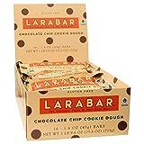 ララバー(Larabar) チョコレートチップクッキー 1箱(45g x 16本) [海外直送][並行輸入品]