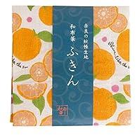 和布華 かや生地 ふきん 布巾 ディッシュクロス 奈良 (オレンジ)