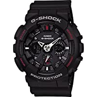 G Shock Men's Ga120-1A Watch Resin Glass Black