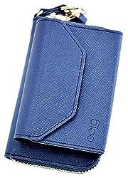 グロー ケース PUレザー gloケース グロウ ホルダー アイコス両用 カバー iQOS ケース ヒートスティック 収納 PUレザー 予備 ホルダー 電子タバコ (ネイビー)