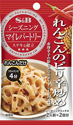 SB マイレパートリーれんこんのピリ辛炒め 16g ×10袋