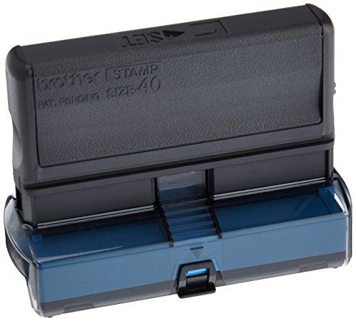 BROTHER P-touchスタンプクリエーターSC-360pc用スタンプ 青 QS-S40E