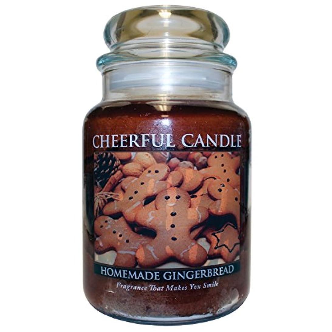 用量デクリメント劇的A Cheerful Giver Homemade Gingerbread Jar Candle, 24-Ounce [並行輸入品]