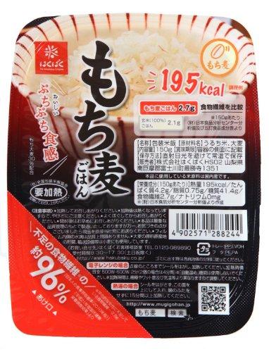 はくばく もち麦ごはん 無菌パック150g×6入り