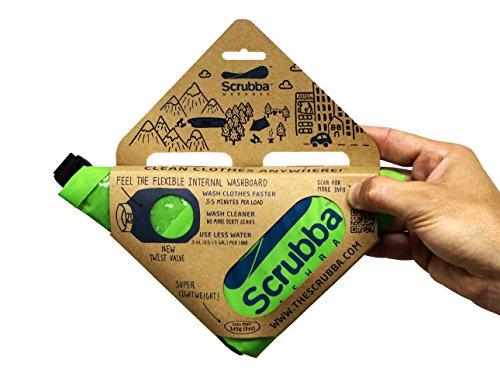 Scrubba Washbag スクラバ ウォッシュバッグ 携帯用洗濯袋 2...