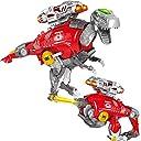 恐竜の変換泡ゲームのブラスター変形玩具銃 T-レックスキャラクター恐竜玩具 (チラノサウルス)