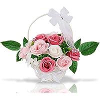 ハロウィン 敬老の日 ソープフラワー 創意花かごギフトボックス 誕生日 母の日 記念日 先生の日 バレンタインデー 昇進 転居など最適としてのプレゼント