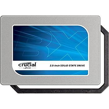 Crucial [Micron製Crucialブランド] 内蔵 SSD 2.5インチ BX100 ( 250GB / SATA 6Gbps / 7mm / 9.5mmアダプタ付属 ) 自社製MLCメモリー搭載 CT250BX100SSD1