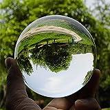 Hommy クリスタル クリア ボール 水晶球 無色透明 (60mm)