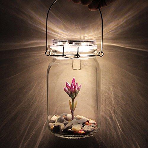 ソーラー ビン ソーラージャー ガラス ボトル ランプ US...