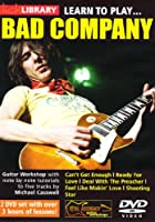Learn to Play Bad Company (2 Dvd) [Import anglais]