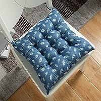 パッド入りクッションウィンターパールコットン調度用オフィスチェアパッドテーブルマット、45x45cm、葉