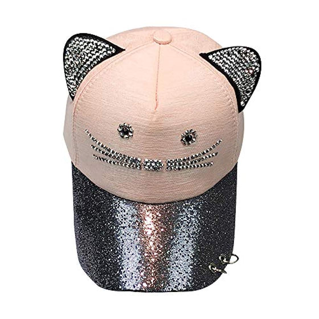 Racazing Cap 野球帽 ヒップホップ メンズ 男女兼用 夏 登山 帽子スパンコール 可調整可能 プラスベルベット 棒球帽 UV 帽子 軽量 屋外 Unisex Hat