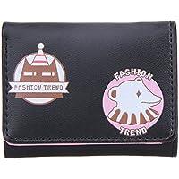 bestjpshop レディース 三つ折り 小銭入れ コインケース カードケース 手乗り財布 小さい財布 人気 かわいい 財布 カード収納