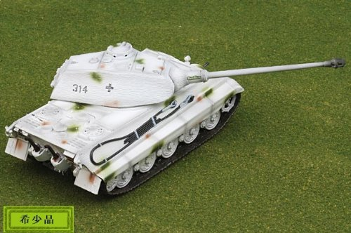 1:72 ドラゴン モデル 1:72 Armor Value シリーズ 62004 Henschel/Porsche Sd.Kfz.182 King Tiger ディスプレイ モデル German A