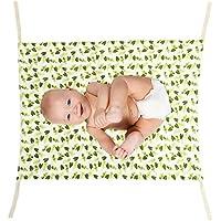 SeagullWaves ベビーハンモック ベビーベッド ベビー寝具 取り外し可 持ち運び便利 ベビー用品 乳児折りたたむ式 耐久性 調節可能 快適 通気性 安全 おもちゃ収納 (A)