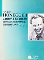 Partitions classique SALABERT HONEGGER - CONCERTO DA CAMERA - 2 SAXOPHONES Saxophone