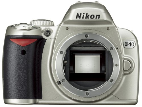 Nikon デジタル一眼レフカメラ D40 シルバー ボディ本体 D40S
