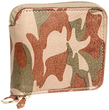 Zip Around Wallet 03-6156: Camouflage