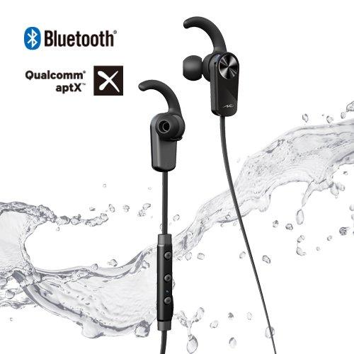 ラディウス イヤホン Bluetooth 防滴 HP-BTF01K  ブラック